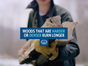 Some interesting facts about choosing fire wood and storing it!