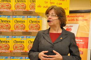 Christine Magyarits, a spokesperson for the ShopRite Partners In Caring Program.