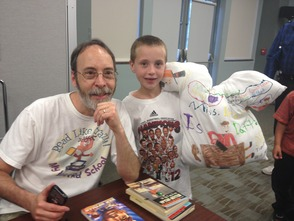 Gutman Signs Attendees Creative Book Report