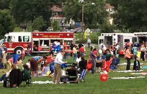 South Orange Turns Out for National Night Out, photo 1
