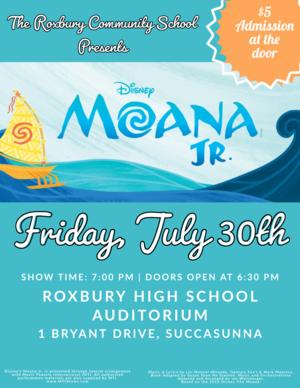 Moana, Roxbury NJ