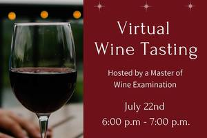 DFS Virtual Wine Tasting Event
