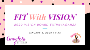 FIT WITH VISION EVENT FLYER