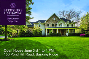 Open House 150 Pond Hill Rd, Basking Ridge