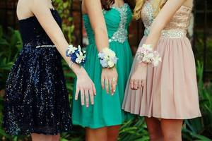 Carousel image 14fb35a2ccc1613e9c7d homecoming dress girl teen school dance prom 2282561
