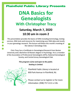 2020 DNA Chris Tracy Program