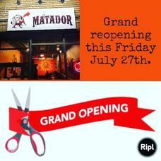 Carousel image 160be20d54c425acc47a el matador reopening july 27 2018