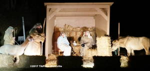 Montville Reformed Church Live Nativity ©2017 TAPinto Montville