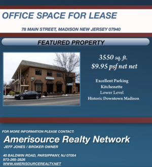 Office Space in Beautiful Downtown Madison!