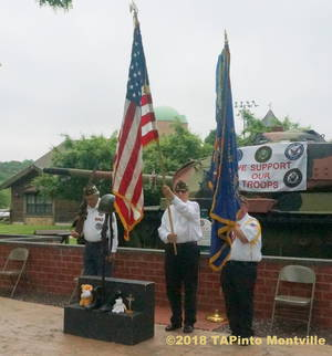 Carousel image 1a1b67efbb145a56a08b a the presentation of the colors by gerry gemian  chip cutler  and joe coll of vfw post 5481  2018 tapinto montville   1.