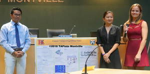 Carousel image 217e9a88bdc49b1b13a3 a matthew chang  katherine liu and natalie sliwowski present their science research project  2018 tapinto montville