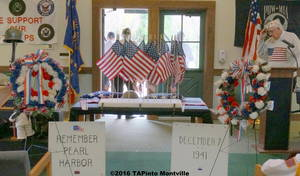 Pearl Harbor Day 2016 ©2016 TAPinto Montville