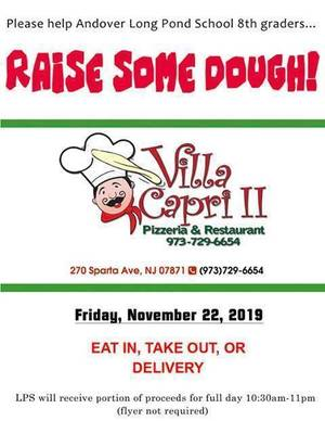 villa capri dine to donate Andover school.jpg