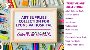 Art supplies for Lyons VA Hospital