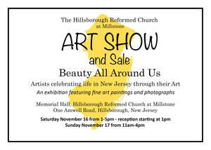 2019 Hillsborough Reformed Art Show Flyer