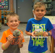 Carousel image 26f83da5623622ca5c83 1 peter and noel show off their painted rocks at the library s summer reading program kickoff event  2018 tapinto montville  1.