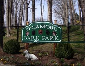 Carousel image 29c51a77a29563d30b5c sycamore bark park sign