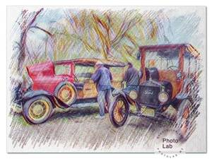 Cars from the 1920's, 30's, 40's and newer