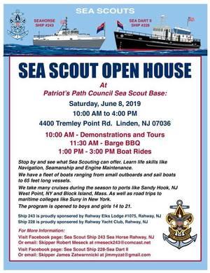 Sea Scouts Open House Flyer