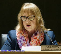 Carousel image 36dffb8e891ae902cef3 june witty at the april 24 township committee meeting  2018 tapinto montville