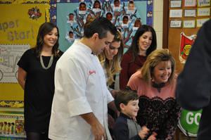 Cake Boss visit to William Mason Elementary in Montville