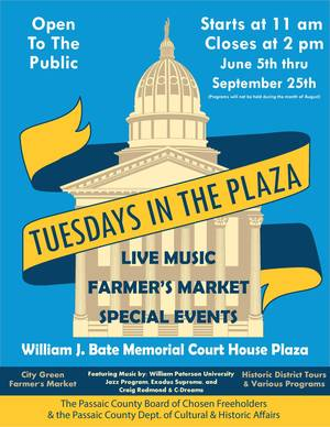 Tuesdays in the Plaza 2018