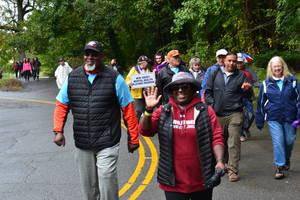 Walk Held in Beautiful Nomahegan Park