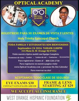 Community On Site Optical Clinic Presented By Optical