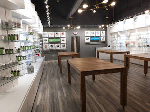 Deep Wellness Center Retail Interior