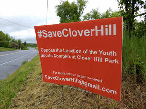 Carousel image 4b62c5946b9c049d54ff clover hill protest sign