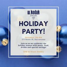 W. Kodak Jewelers Holiday Event