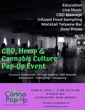 CBD, Hemp & Cannabis Culture Event Livingston