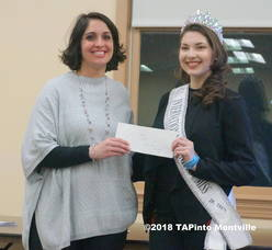 Carousel image 4efcda0b3bd7e5b0d4dd a dawn doherty  executive dtr of the society for the prevention of teen suicide  accepts a check from veronica tullo s h.e.a.r.t. foundation  2018 tapinto montville