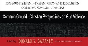 Gun Violence Community Event