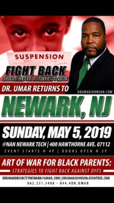 Dr. Umar Johnson Returns to Newark