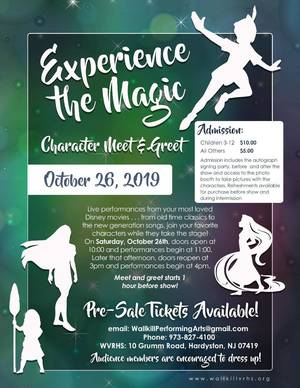 2019 Experience the Magic Flyer