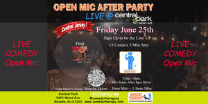 Comedy Open Mic After Party