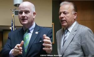 Carousel image 605259492ee11c0148c5 a sheriff james gannon and state senator joe pennacchio  2018 tapinto montville    1.