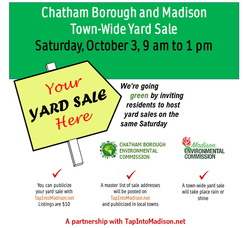 Chatham Borough and Madison Town-Wide Yard Sale