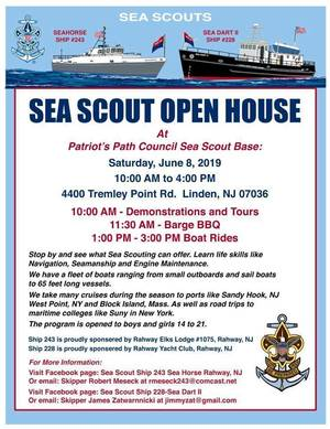 SEA SCOUT OPEN HOUSE