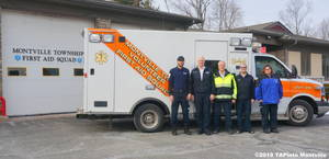 Carousel image 68816e535d076ac7f8f5 a members of the first aid squad  2018 tapinto montville