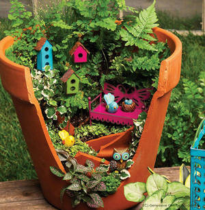 Broken Fairy Pot Garden Workshop