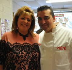 Cake Boss visit to Montville's William Mason