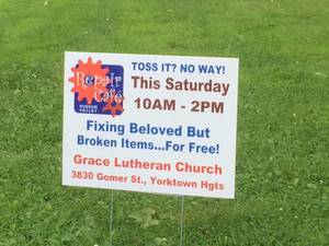 Yorktown Repair Cafe yardsign.jpeg