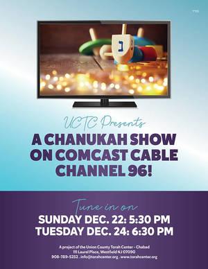 Chanukah Show on Comcast