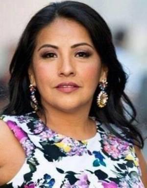 Edith Villavicencio, owner and creative director of Glamurosa Floral Design in Maplewood