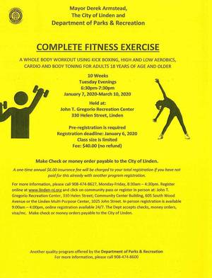 Complete Fitness Exercise