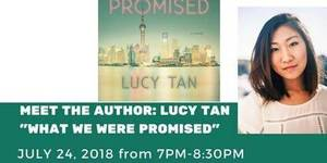 Meet the Author: Lucy Tan