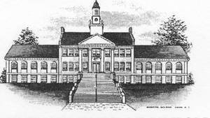 pencil drawing of town hall.jpg