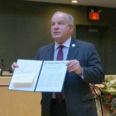 Mayor Jim Sandham